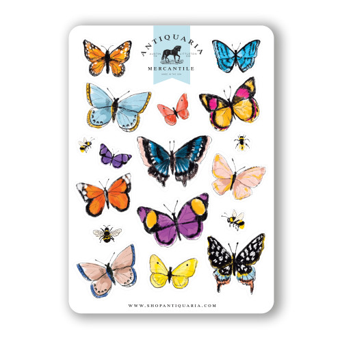 Sticker Sheet: Butterflies