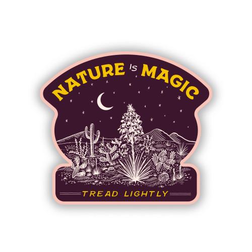 Nature is Magic Sticker