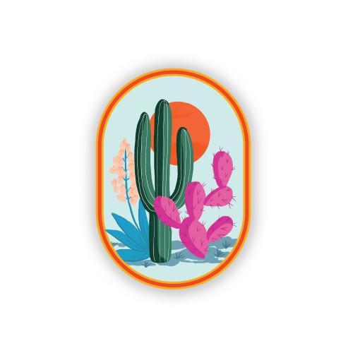 Cactus Love Sticker