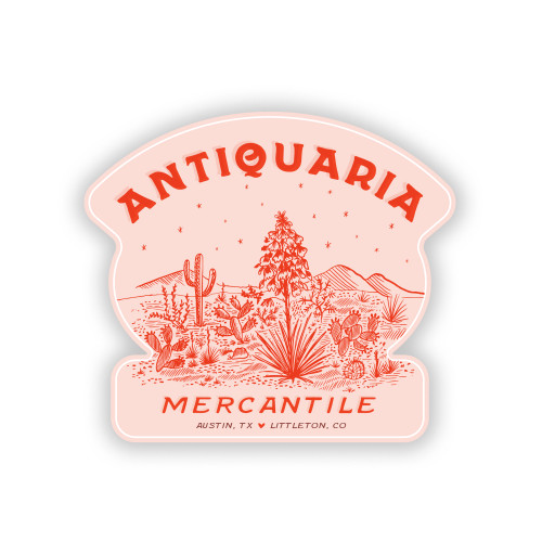 Antiquaria Mercantile Sticker