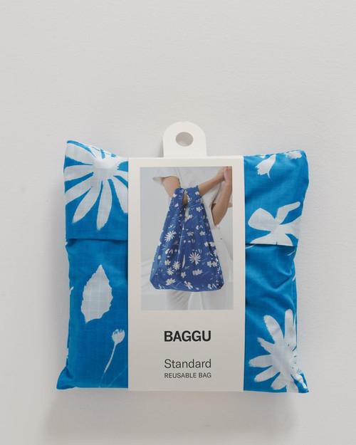 Blue Floral Sun Print Baggu