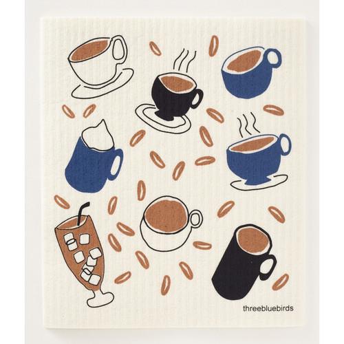 Coffee Swedish Dishcloth