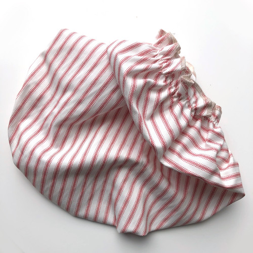 Cloth Bowl Cover- xl- red