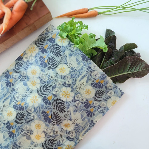 Assorted Print Beeswax Food Bags