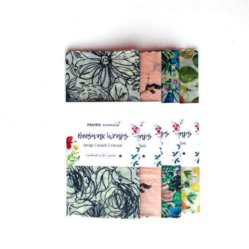 Assorted Print Beeswax Bread Wrap