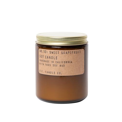 Sweet Grapefruit Soy Candle- 7.2
