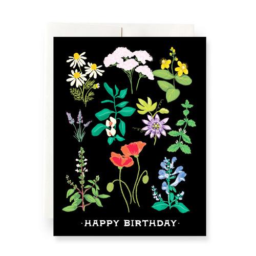 Plant Magic Birthday Greeting Card