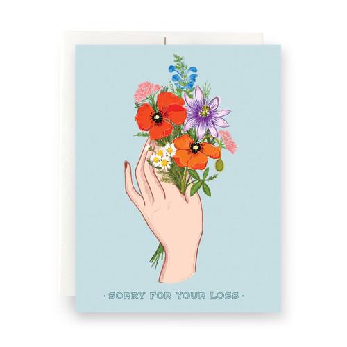 Plant Magic Loss Greeting Card