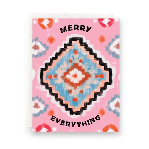 Santa Fe Merry Everything Greeting Card