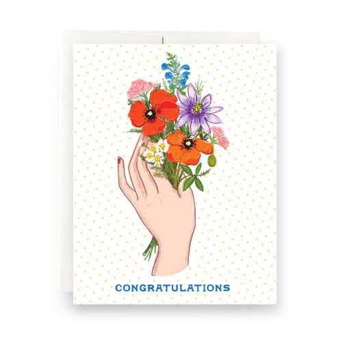 Plant Magic Congratulations Greeting Card