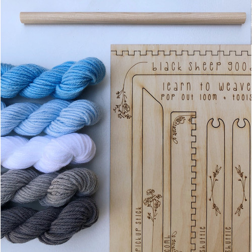 Tapestry Weaving DIY Kit - Cloud