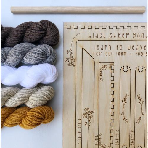 Tapestry Weaving DIY Kit - Honey