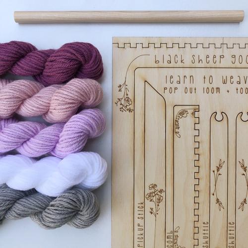 Tapestry Weaving DIY Kit - Orchid