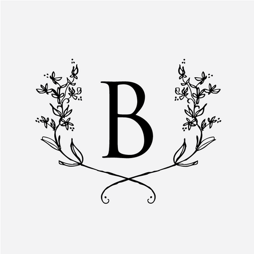 """Floral"" Monogram Stamp"