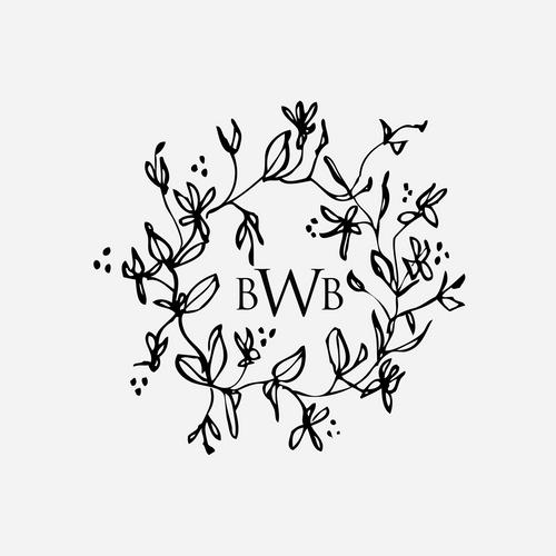 """Floral"" Monogram Stamp No.2"