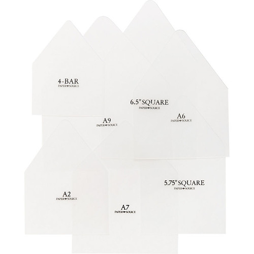 Envelope Liner Templates