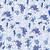 Indigo Kittens Wrapping Sheet, 20x29