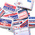Vintage Label Stickers: Air Mail