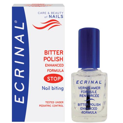 Ecrinal Bitter Polish Enhanced Formula Stop Nail Bitting