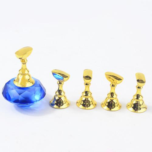 Blue & Gold Nail Tip Holder