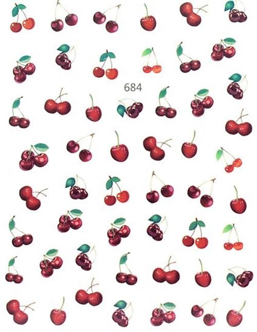 Cherry Nail Art Stickers