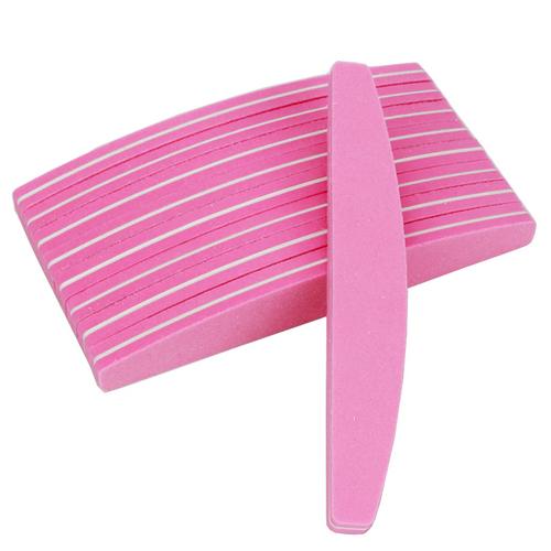 Pink 100/180 Buffer Nail File