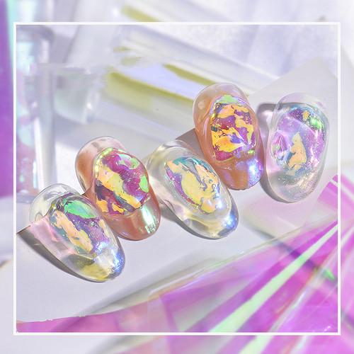 Aurora Glass Paper Nail Art Film