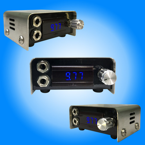 Ten Turn  Metallic Blue Super Mini Power Supply