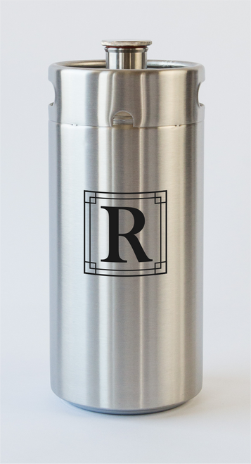 Engraving for 128 ounce ManCan
