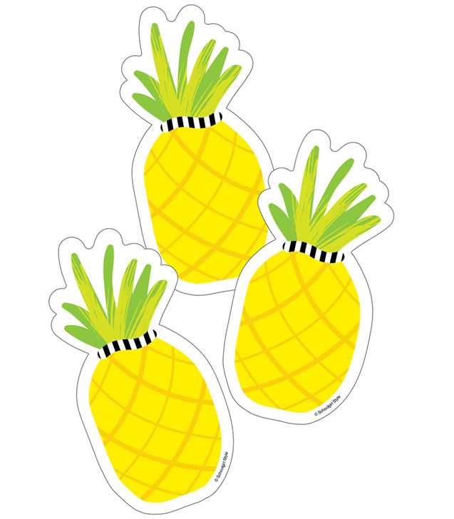 Simply Stylish Tropical Pineapple Cut-Outs