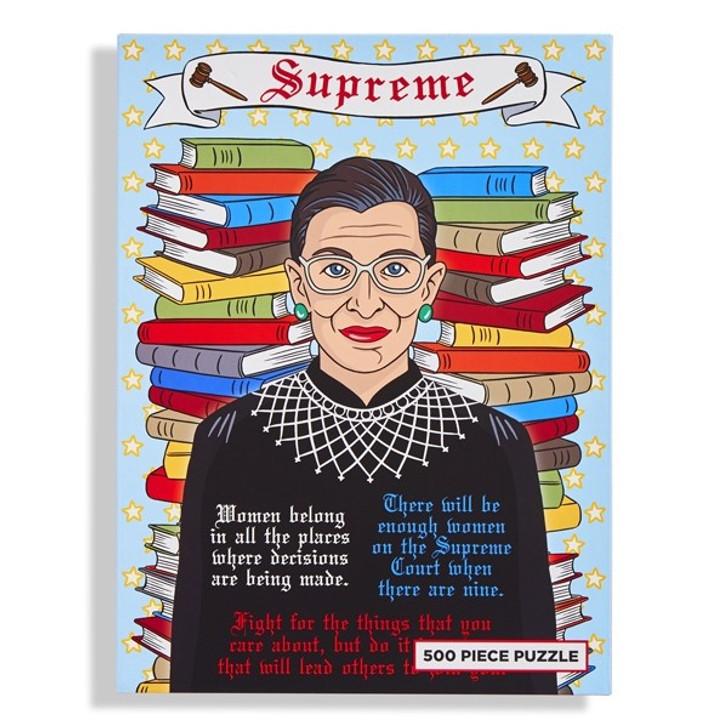 Supreme RBG Ruth Bader Ginsburg 500 Piece Puzzle