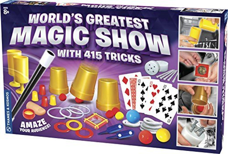 World's Greatest Magic Show with 415 Tricks Magic Set