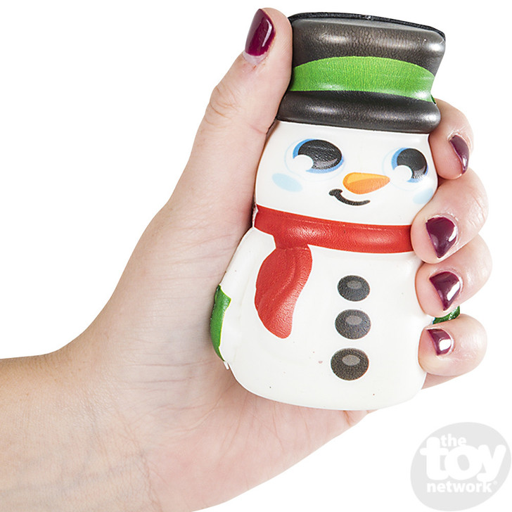"4"" Squish Snowman"