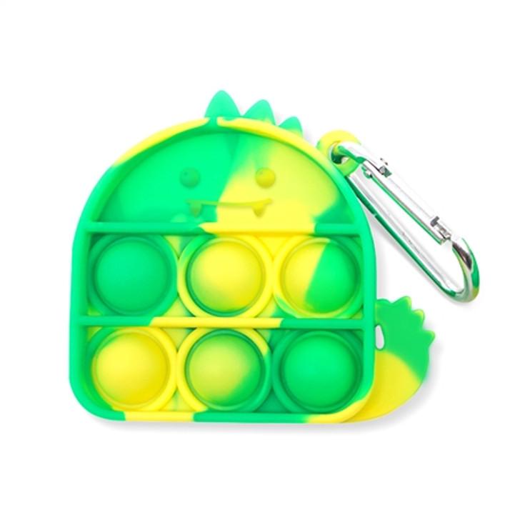 OMG Pop Fidgety Keychain - Dinosaur