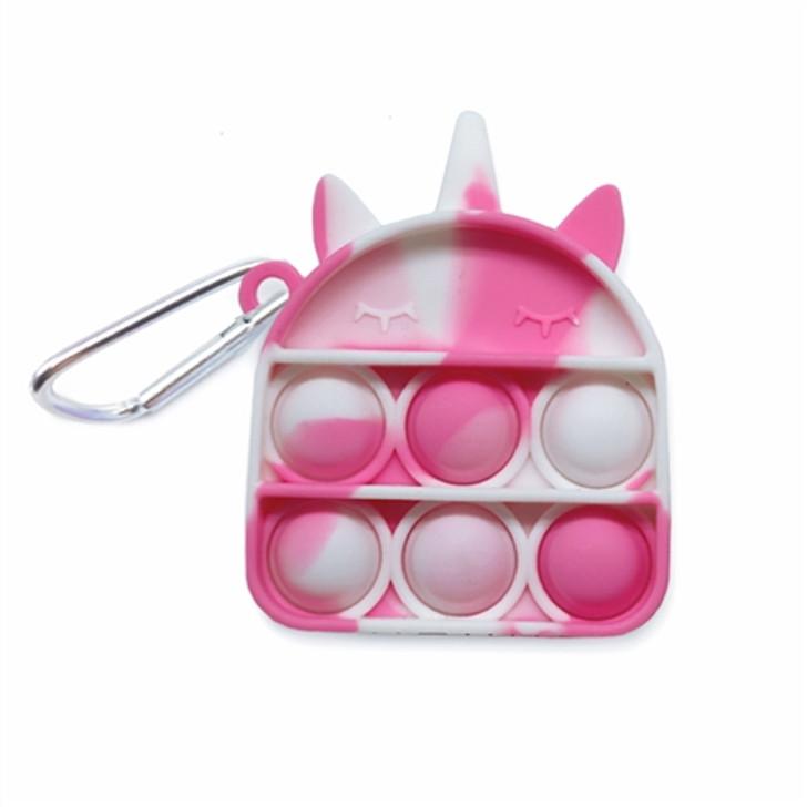 OMG Pop Fidgety Keychain - Unicorn