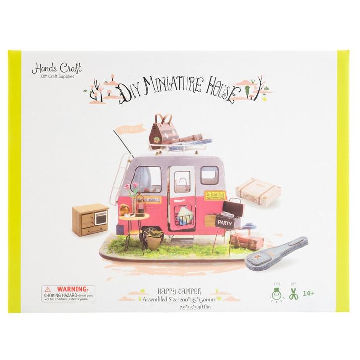 Happy Camper, DIY Miniature Dollhouse Kit