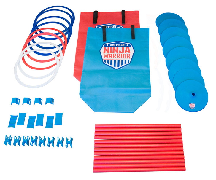 American Ninja Warrior™ Obstacle Course Race Set (40 Pieces)