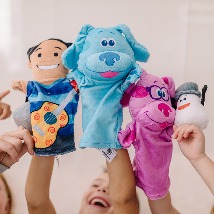 Blues Clues & You! Hand & Finger Puppets