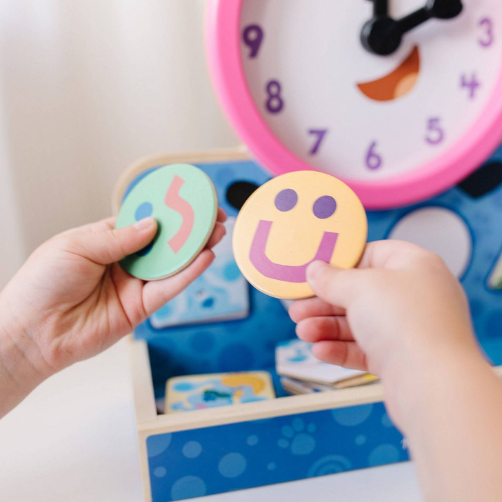 Blues Clues & You! Tickety Tock Magnetic Clock