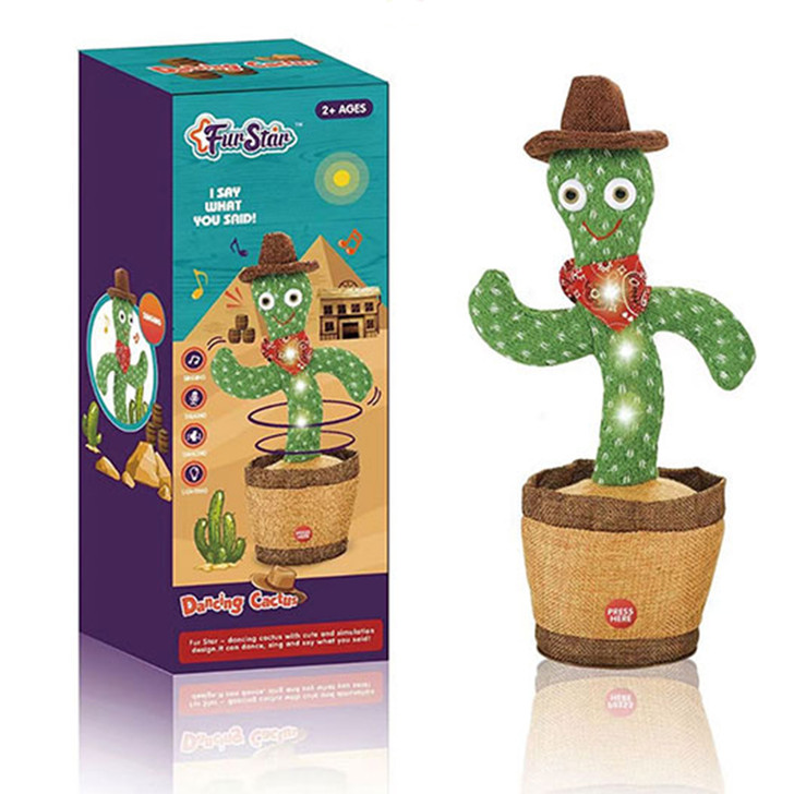 Voice Activated Dancing Cactus