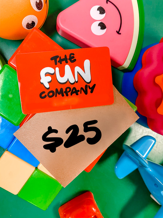 Fun Company $25 Gift Card