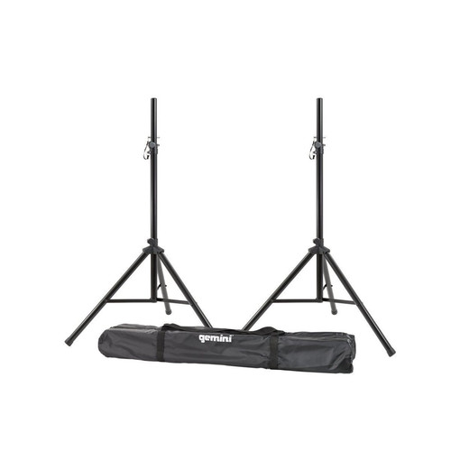 Gemini ST-Pack 2 TRIPOD SPEAKER STANDS WITH CARRY BAG