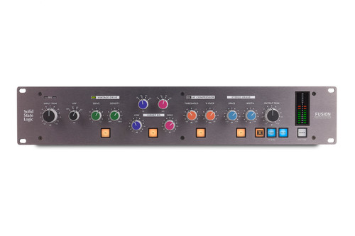 SSL Fusion Six analogue colours and limitless sonic flavours