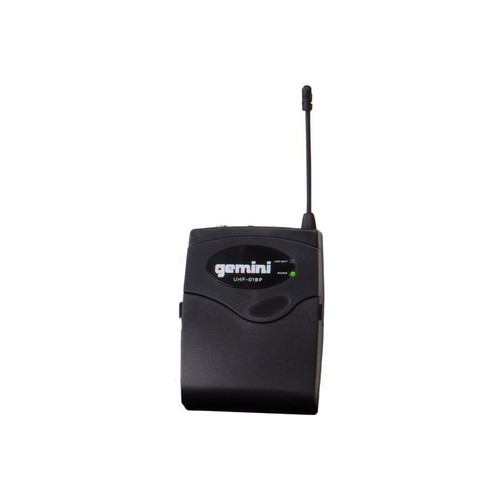 Gemini UHF-02HL Dual channel UHF Wireless system - headset/lavalier