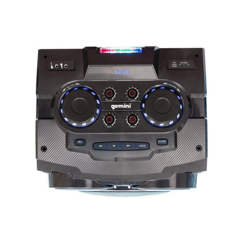 "Gemini GMAX-6000 DUAL 15"" BLUETOOTH PARTY SYSTEM"