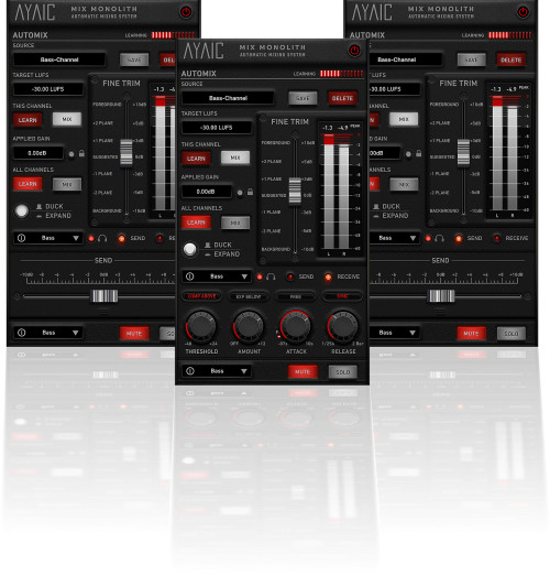 Mix Monolith Automatic Mixing System Plug-In