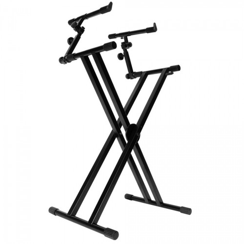 KS7292 Double-X ERGO-LOK Keyboard Stand with Second Tier