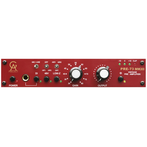 GOLDEN AGE PROJECT Pre-73 MKIII Microphone Preamp