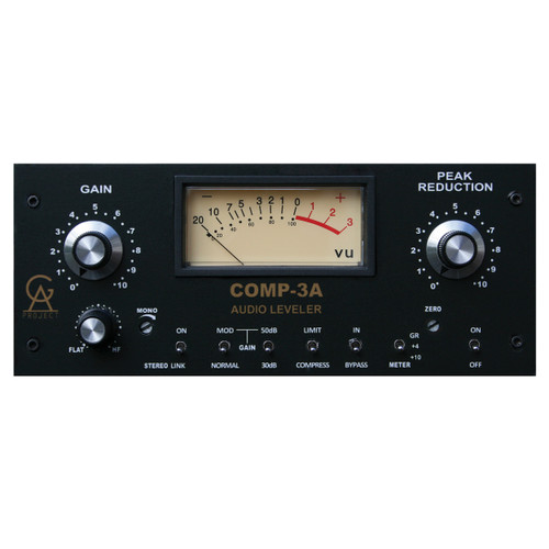 GOLDEN AGE PROJECT Comp-3A 1-Channel Vintage Style Compressor