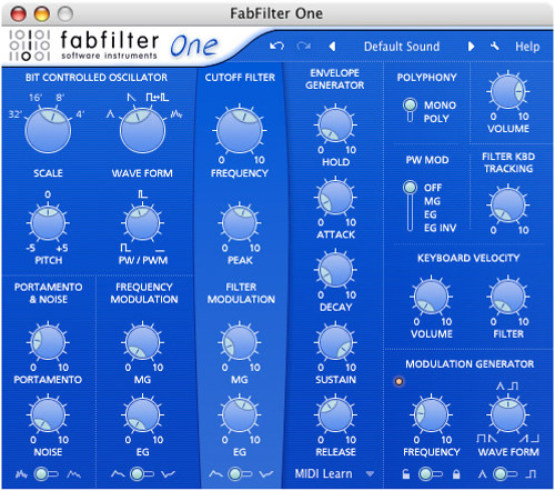 FabFilter One-Electronic Download